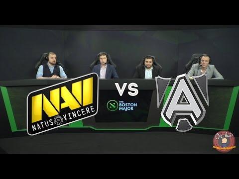 Аналитики смотрят Navi vs The Alliance  игра с The International 3 (2013 год)