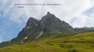 Großer Widderstein Bergtour 01.07.18 - schöne leichte Kletterei!