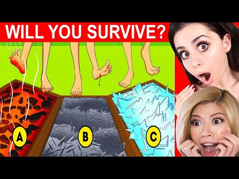 Messed up MYSTERY RIDDLES to Test Survival Skills