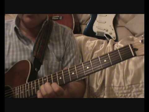 WILLIE NELSON MERLE HAGGARD PANCHO AND LEFTY GUITAR SOLO DEMO LESSON ...
