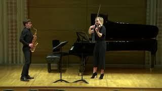 Milhaud -Suite op. 157b III. Jeu (arr. Kavinsky Trio)