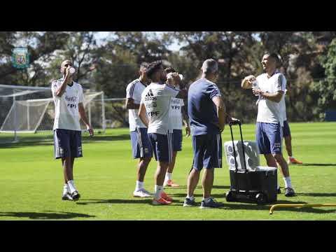 #SelecciónMayor Entrenamiento en Cidade Do Galo antes de enfrentar a Paraguay