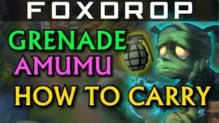 How to Carry #4 - GRENADE AMUMU JUNGLE (Full AP) - League of Legends Unranked to Diamond