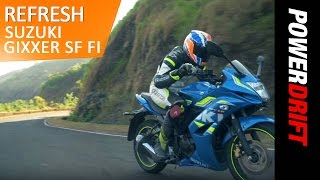 Is the New Suzuki Gixxer SF Fi worth the premium? : PowerDrift Refresh