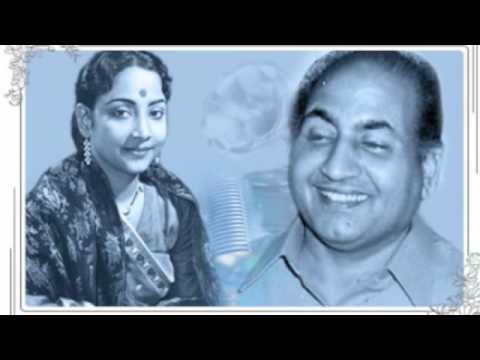 Geeta Dutt, Mohd Rafi : Meri gali chhokre jee aaya na karo : Film - Hum matawale naujawan (1961)