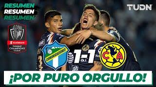 Resumen y Goles| Comunicaciones 1 - 1 América | Concacaf Champions League | TUDN