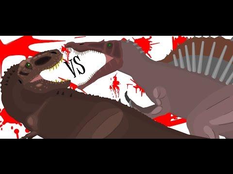 PDBG: ep28: Tyrannosaurus VS Spinosaurus Remake