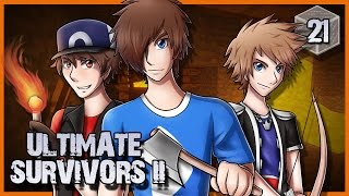 Ultimate Survivors II #21 : AU COEUR DU VOLCAN !