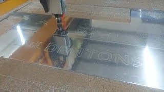 Apak Reklam 8mm Alüminyum CNC Oyma ve Kesim | CNC Alüminyum İşleme Örnek Video