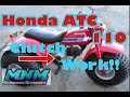 Video 3/3 Honda ATC110 ATC 110 Vintage Engine Tear Down Motor Rebuild Top End to Cases