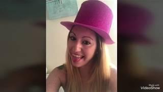 Sombrero para fiestas con goma eva