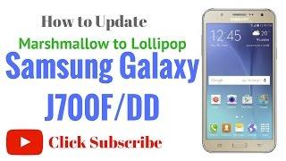 Samsung J700F DD Flash done by GsmHelpFul