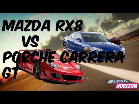 Forza Horizon 2 Versus : Mazda Rx-8 vs (Paul Walker's) Porsche ...