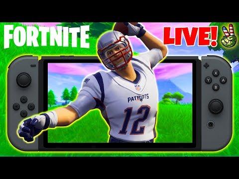 Pro Nintendo Switch Player! // CRAZY TouchDown Emote! // (Fortnite Battle Royale LIVE) thumbnail