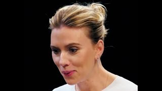 Scarlett Johansson being Weird (First We Feast)