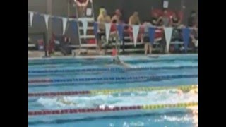 55-59 Masters Swimming World Record 200IM Lynn Marshall
