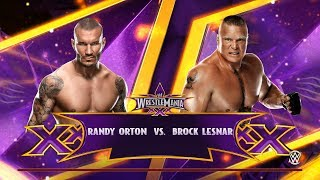 WWE 2K15 PC Gameplay - Randy Orton VS Brock Lesnar [60FPS][FullHD]