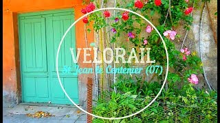 Les Drômois en Balade | Velorail - St Jean le Centenier (07) | Mai 2017