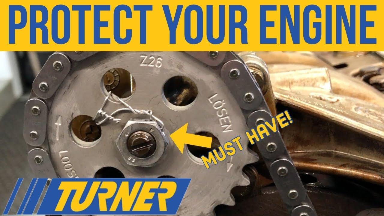 E46 Turner Motorsport Oil pump nut install