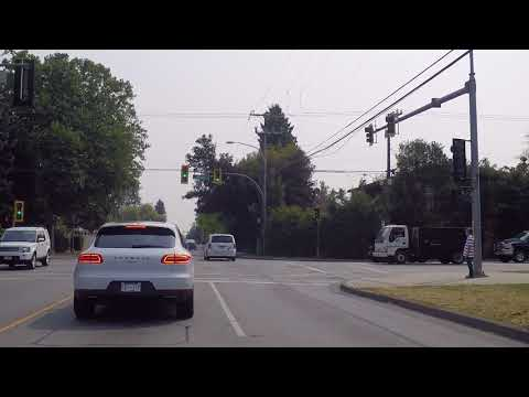 Living in Richmond BC Canada - Driving on Blundell Road - Tour of Housing/Houses