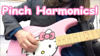 How to Play Pinch Harmonics on Guitar