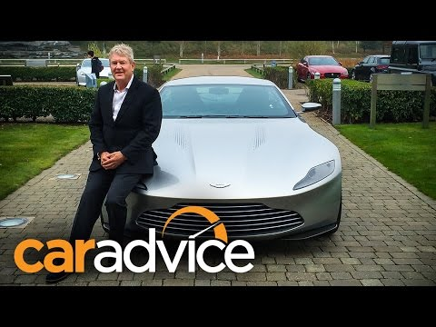 Aston Martin DB10 - James Bond Spectre - first drive and review