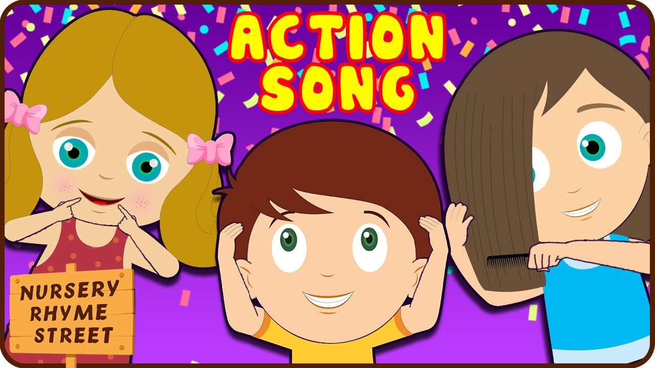 Action Songs For Kids Nursery Rhymes Collection With