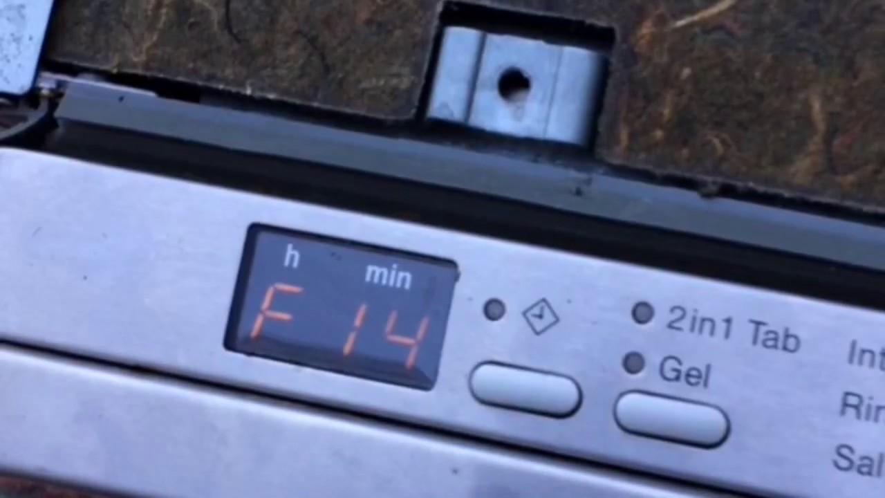 miele fehler f14 spülmaschine
