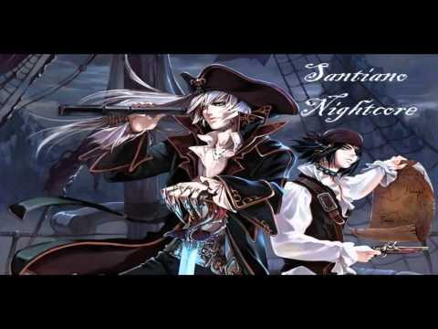 Nightcore - Under Jolly Roger (Santiano)