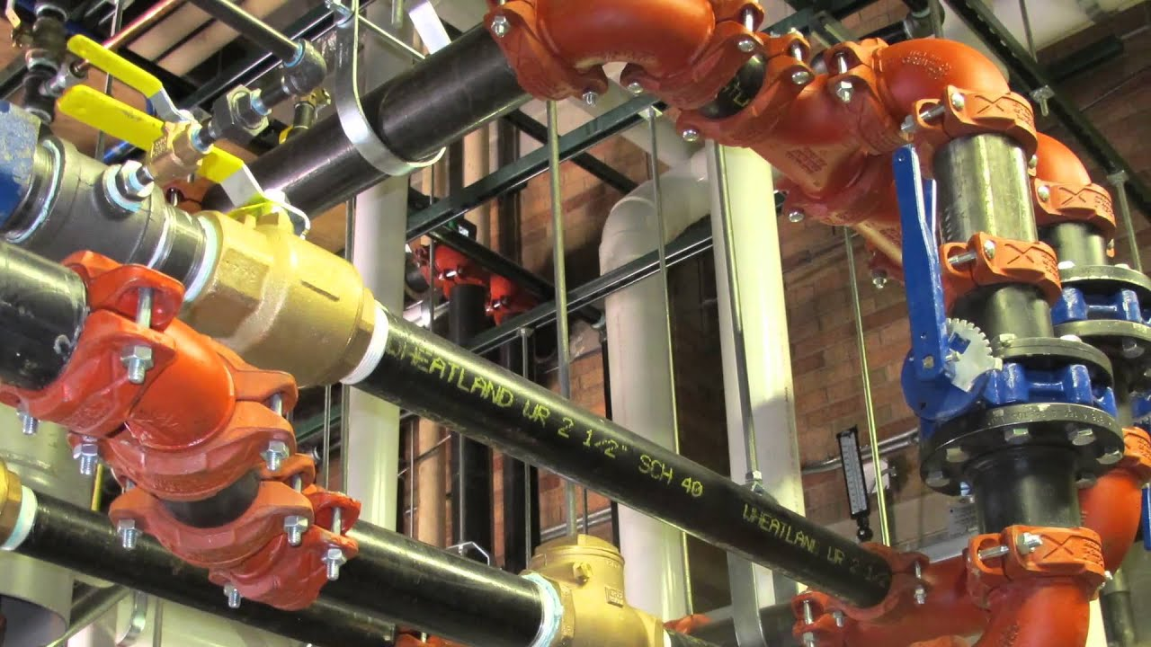 Crawford Company Plumbing/Mechanical Piping Services