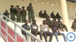 Military hold rehearsals at Narok Stadium ahead of 2019 Madaraka Day celebrations