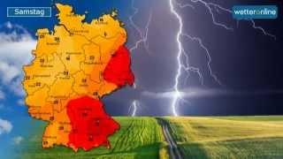 wetteronline.de: Hitze endet mit großem Knall (05.08.2015)