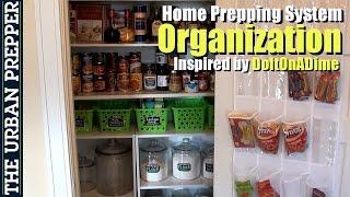 Dollar Tree Organization of Home Preps by TheUrbanPrepper