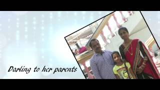 Megana Laxmi - Half Saree Function - Invitation