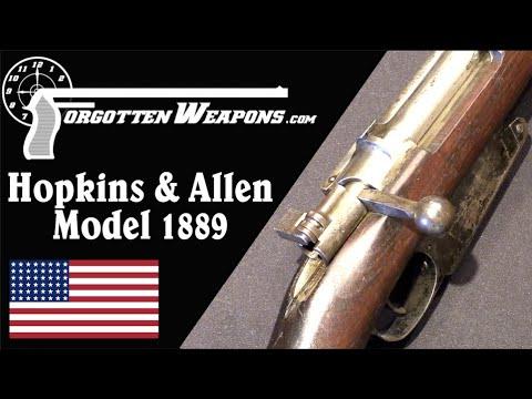 Contracts & Bankruptcy: The Hopkins & Allen Model 1889 for Belgium