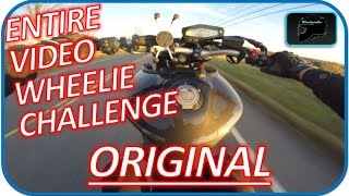 Fz09 Wheelie ENTIRE VIDEO Challenge | Dodge Rider