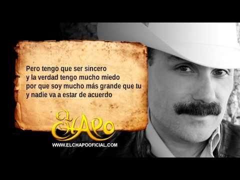 Chiquilla Te Quiero - El Chapo De Sinaloa ( Audio )