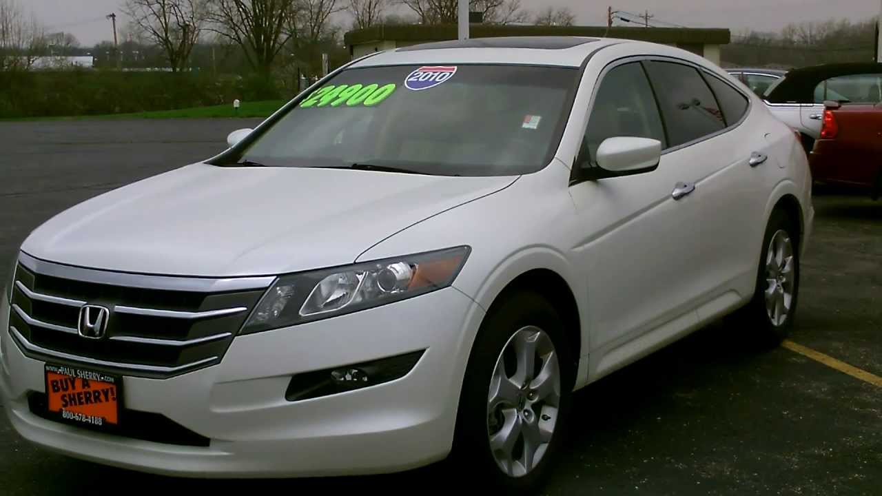 2010 Honda Accord Crosstour Ex L 4wd Suv For Sale Dayton