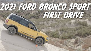 2021 Ford Bronco Sport | MUCH more than just a Baby Bronco | First Drive
