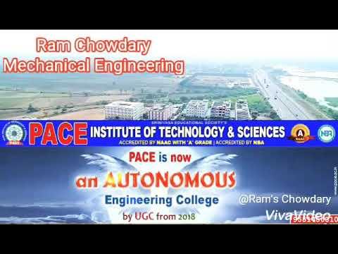 PACE INSTITUTE OF TECHNOLOGY& SCIENCES:ONGOLE An AUTONOMOUS Institution
