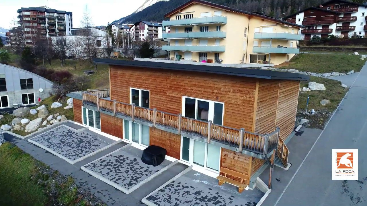 Timber Frame Holiday Apartments In Savognin Swiss Alpes