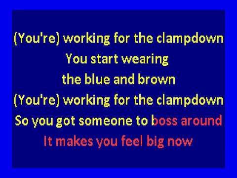 Clash  - Clampdown (karaoke)