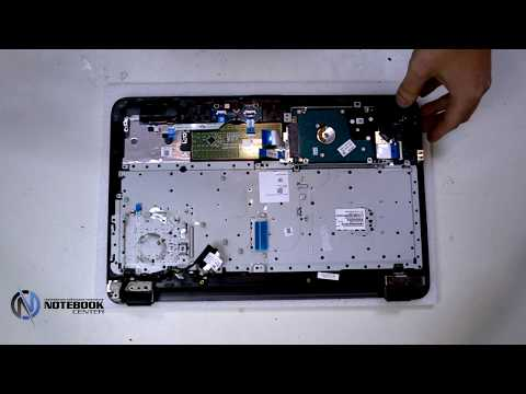 HP 255 G5 - Disassembly and cleaning