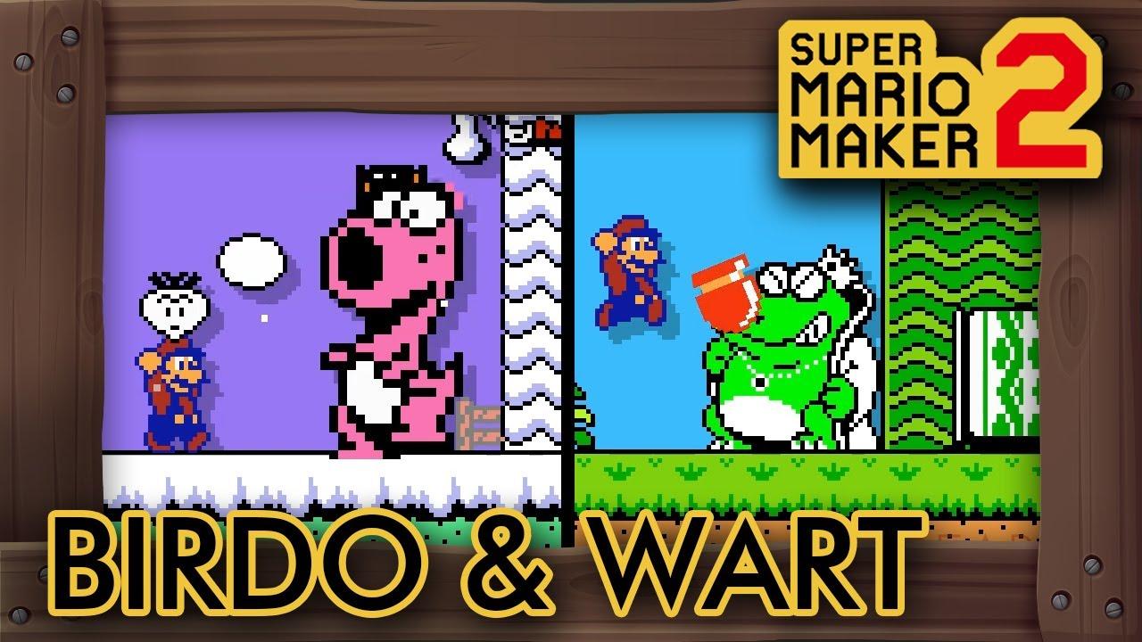 super mario bros 2 wart battle