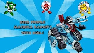 Yugioh Deck Profile Machina Gadgets With Duels August 2016 Format