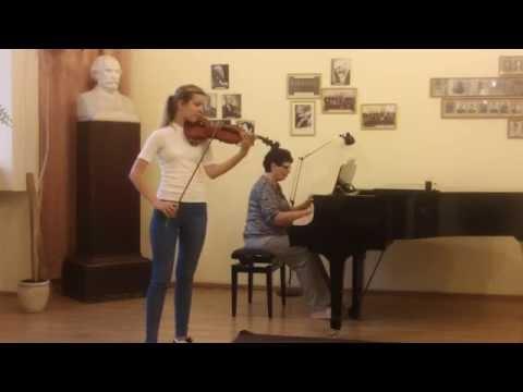 W.A.Mozart Violin Concerto No. 4, 1st movement