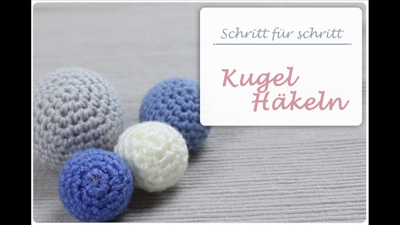 h keln lernen h ckelball amigurumi ball kugel anleitung f r anf nger youtube. Black Bedroom Furniture Sets. Home Design Ideas