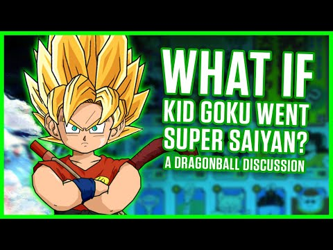 WHAT IF KID GOKU WENT SUPER SAIYAN? | A Dragonball Discussion