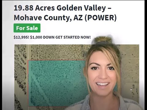 19.88 Acres Golden Valley Property in Mohave County, AZ