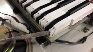 Hướng dẫn sửa phím Roland Hp-2800